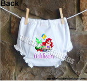 Disney Princess Little Mermaid Bloomers Diaper Cover