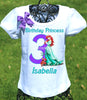 Princess Ariel Birthday Shirt