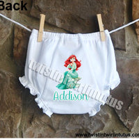 Disney Princess Ariel Bloomers Diaper Cover