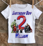 Avengers Birthday Shirt