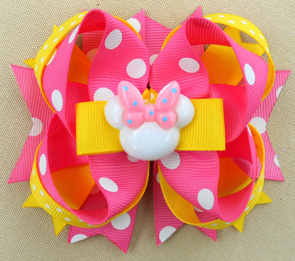 Baby Minnie Mouse Hair Bow