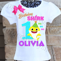Baby Shark Birthday Shirt