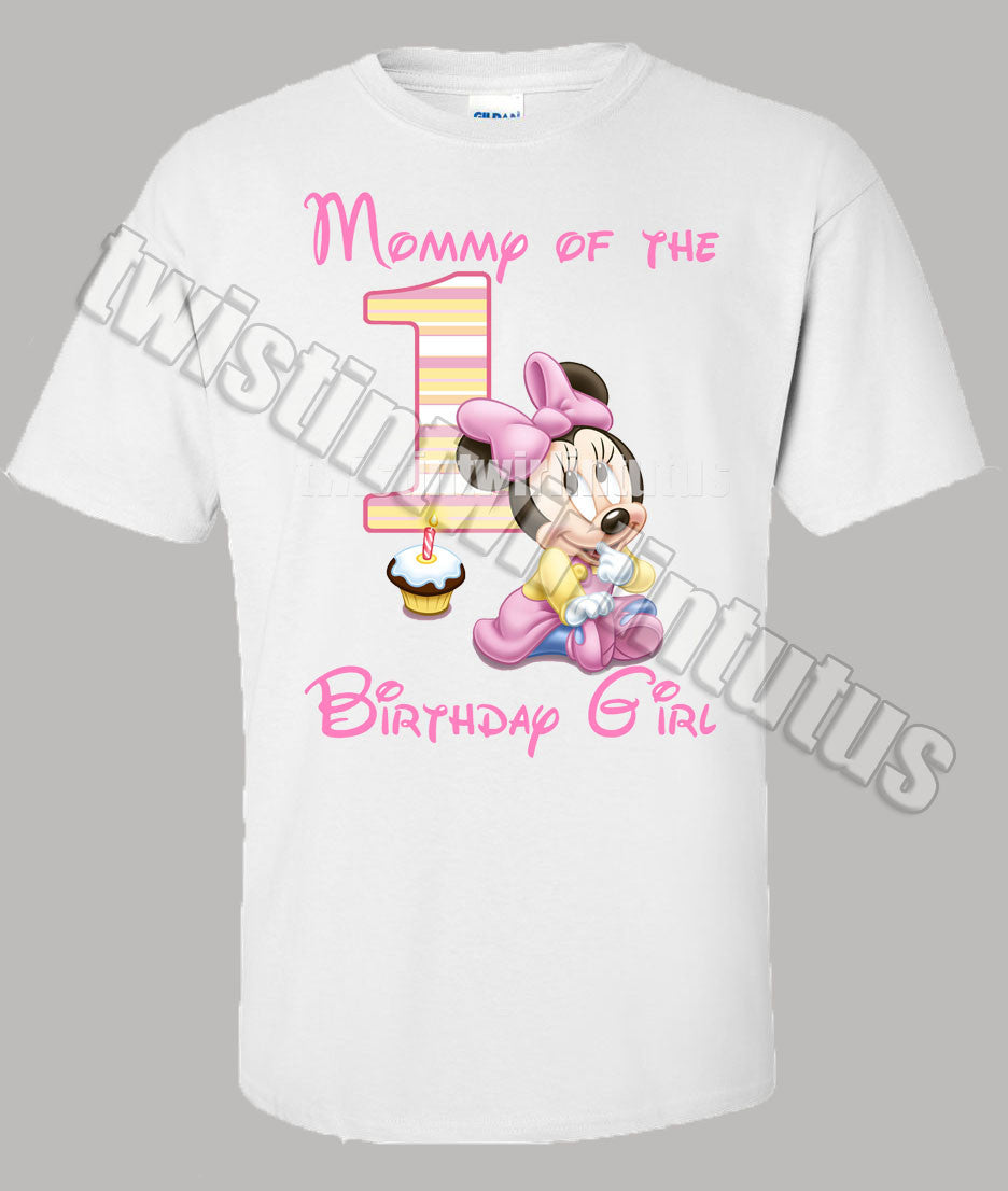First Birthday Shirt Girl Carters