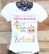 Back to School 1st Grade Shirt