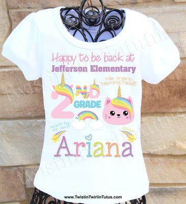 Back to School 2nd Grade Shirt