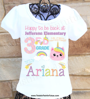 Back to School 3rd Grade Shirt