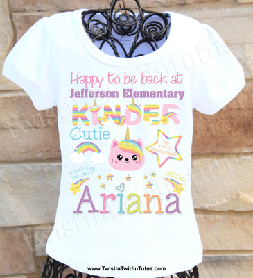 Back to School Kindergarten Shirt