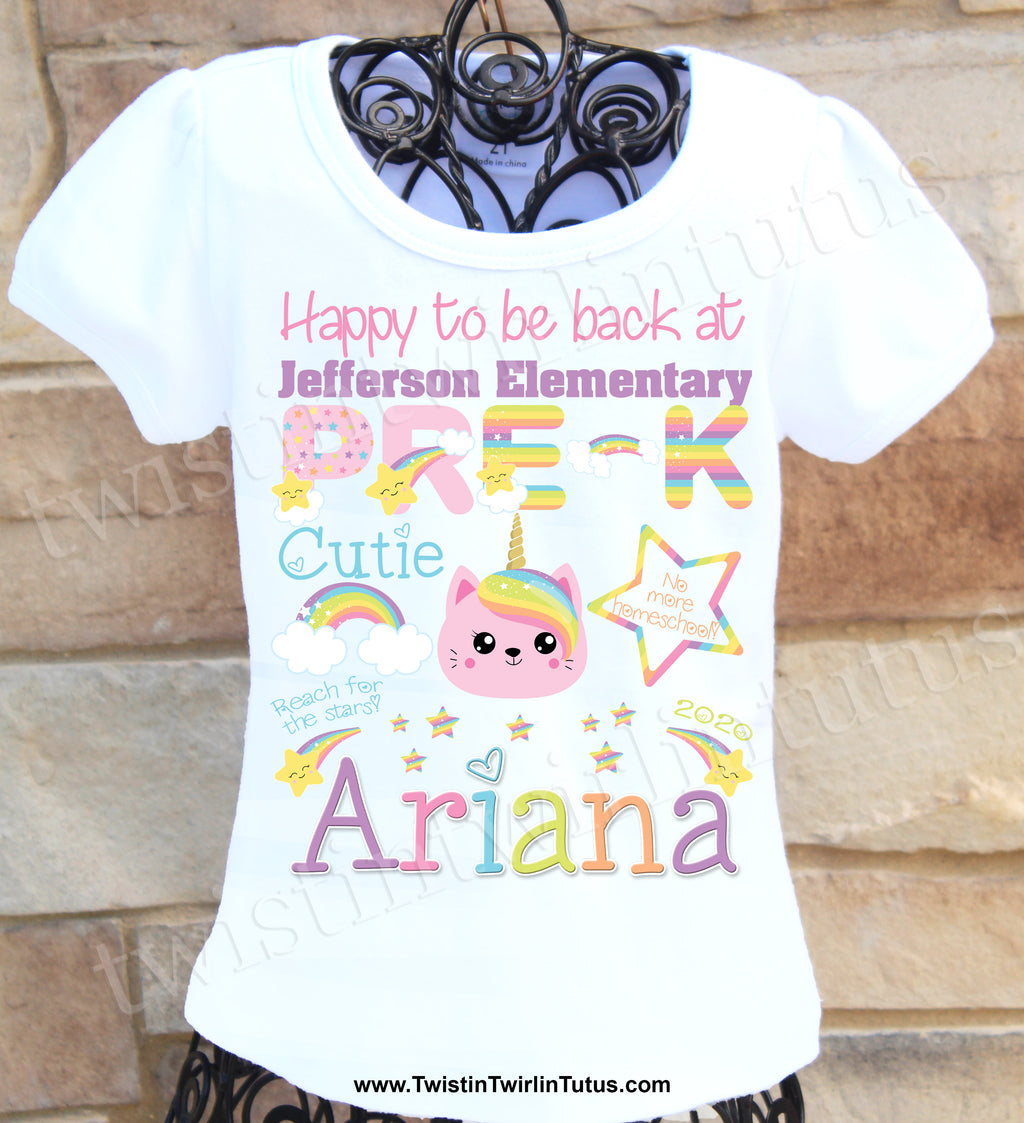 Back to School Pre-K Shirt