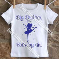 Ballet Brother Birthday Shirt