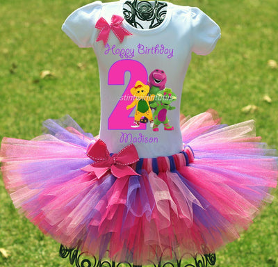 Barney Birthday Outfit