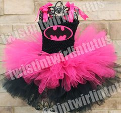 Bat Girl Halloween Tutu Costume