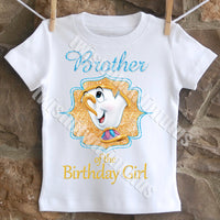 beauty and the beast brother shirt