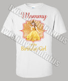 Beauty and the Beast mommy Shirt
