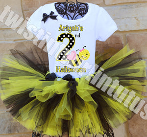 Bumble Bee Halloween Tutu Outfit