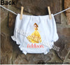 Disney Princess Belle Bloomers Diaper Cover