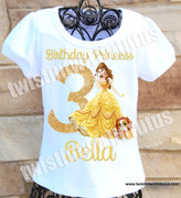 Princess Belle Birthday Shirt
