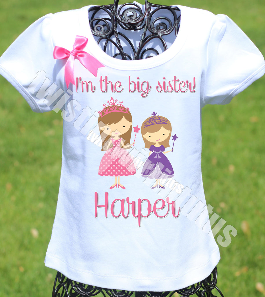 Big Sister Princess Shirt