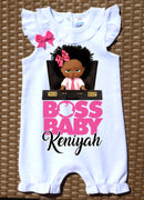 Boss Baby Birthday Romper