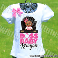Boss Baby Birthday Shirt