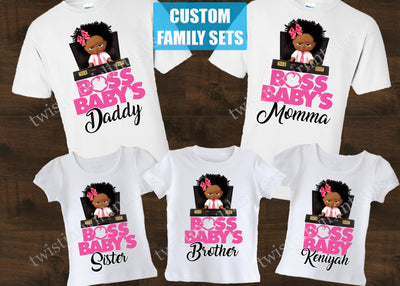Boss Baby Family Shirts