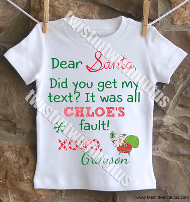 Boys Christmas Shirt