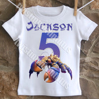 Boys Tamatoa birthday shirt