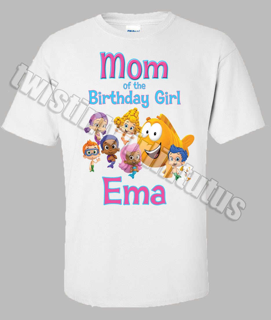 Bubble Guppies Mom Birthday Shirt
