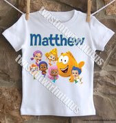 Personalized Bubble Guppies Shirt