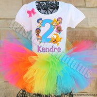 Bubble Guppies Birthday Outfit