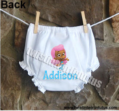 Bubble Guppies Bloomers Diaper Cover