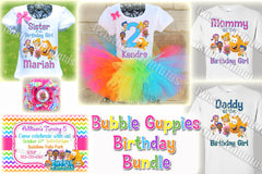 Bubble Guppies Birthday Bundle