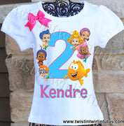 Bubble Guppies Birthday Shirt