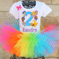 Bubble Guppies Birthday Tutu Outfit