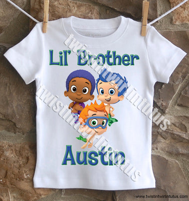 Bubble Guppies Brother Birthday Shirt
