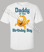 Bubble Guppies Dad Birthday Shirt