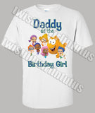 Bubble Guppies Dad Shirt