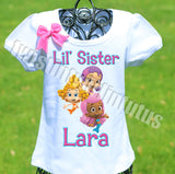 Bubble Guppies Little Sister Birthday Shirt