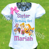 Bubble Guppies Sister Birthday Shirt
