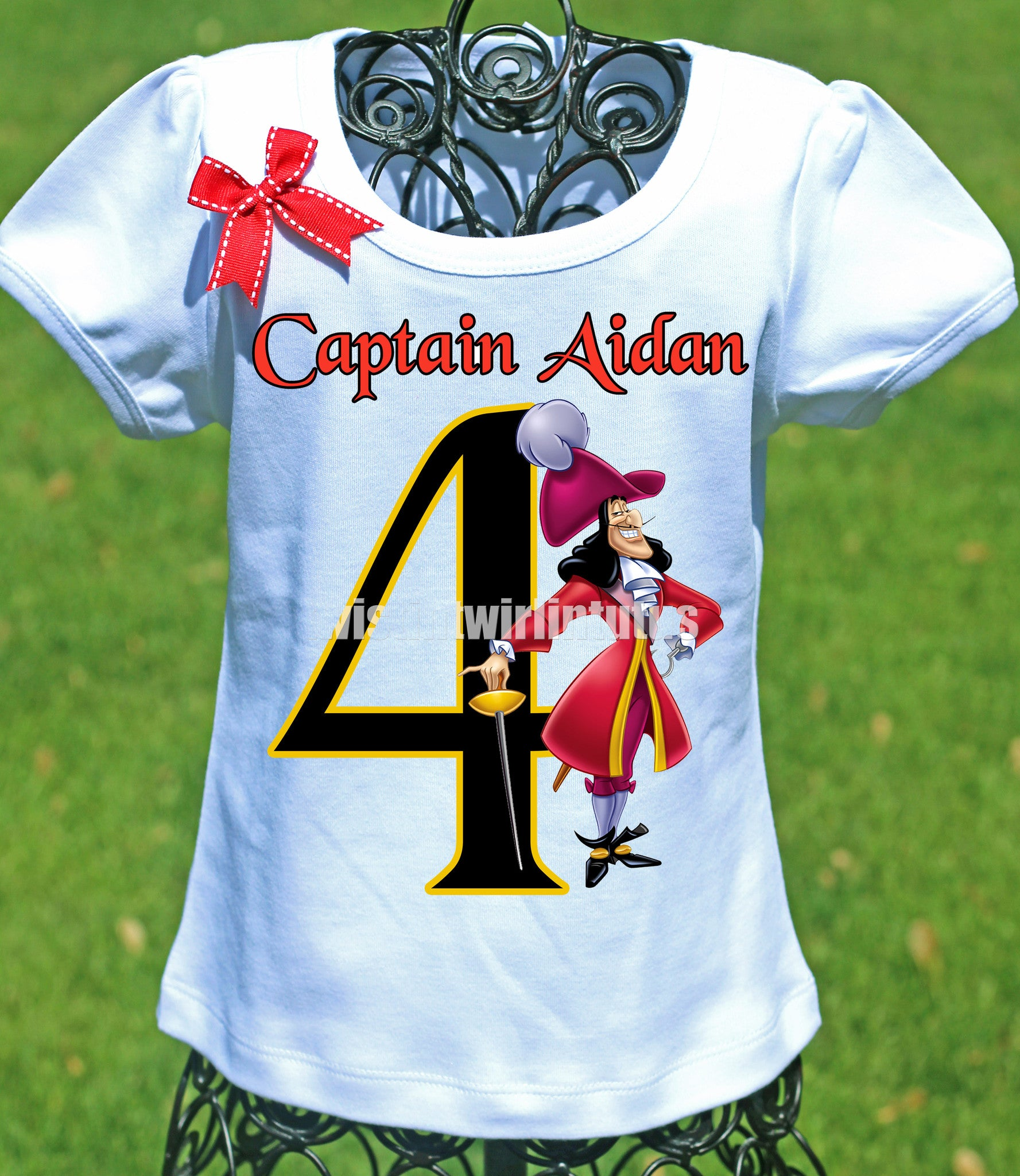 Captain Hook Birthday Shirt