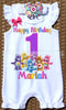 Care Bear Birthday Romper