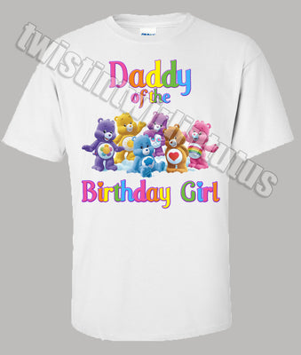 Care Bears Dad Birthday Shirt