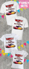 Cars 3 Family Birthday Shirts