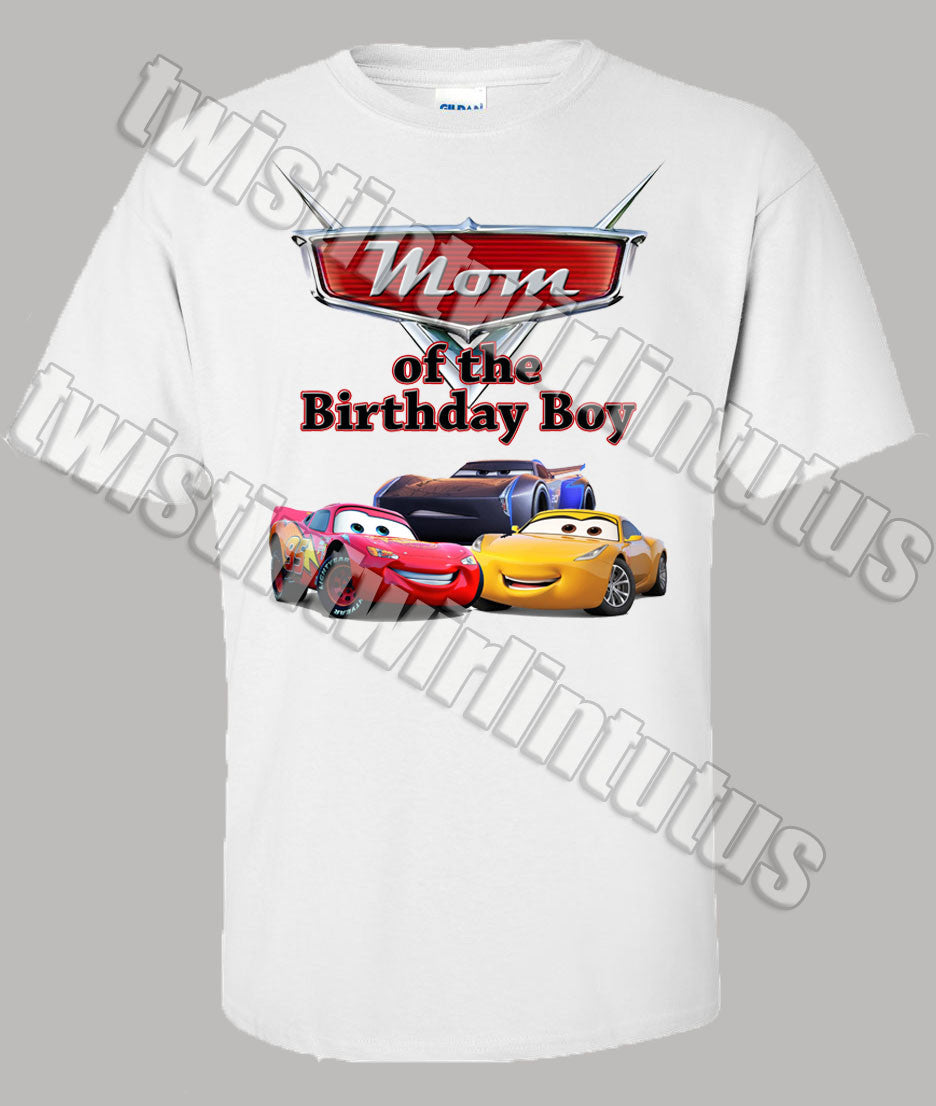 Cars 3 Mom Shirt