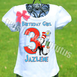 Cat in the Hat Birthday Shirt