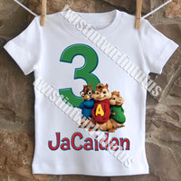 Chipmunks Birthday Shirt