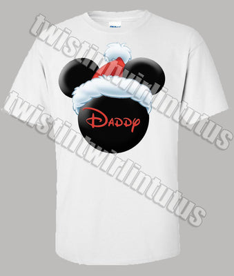 Christmas Mickey Dad Shirt
