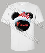 christmas minnie mom shirt