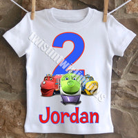 Chuggington Birthday Shirt