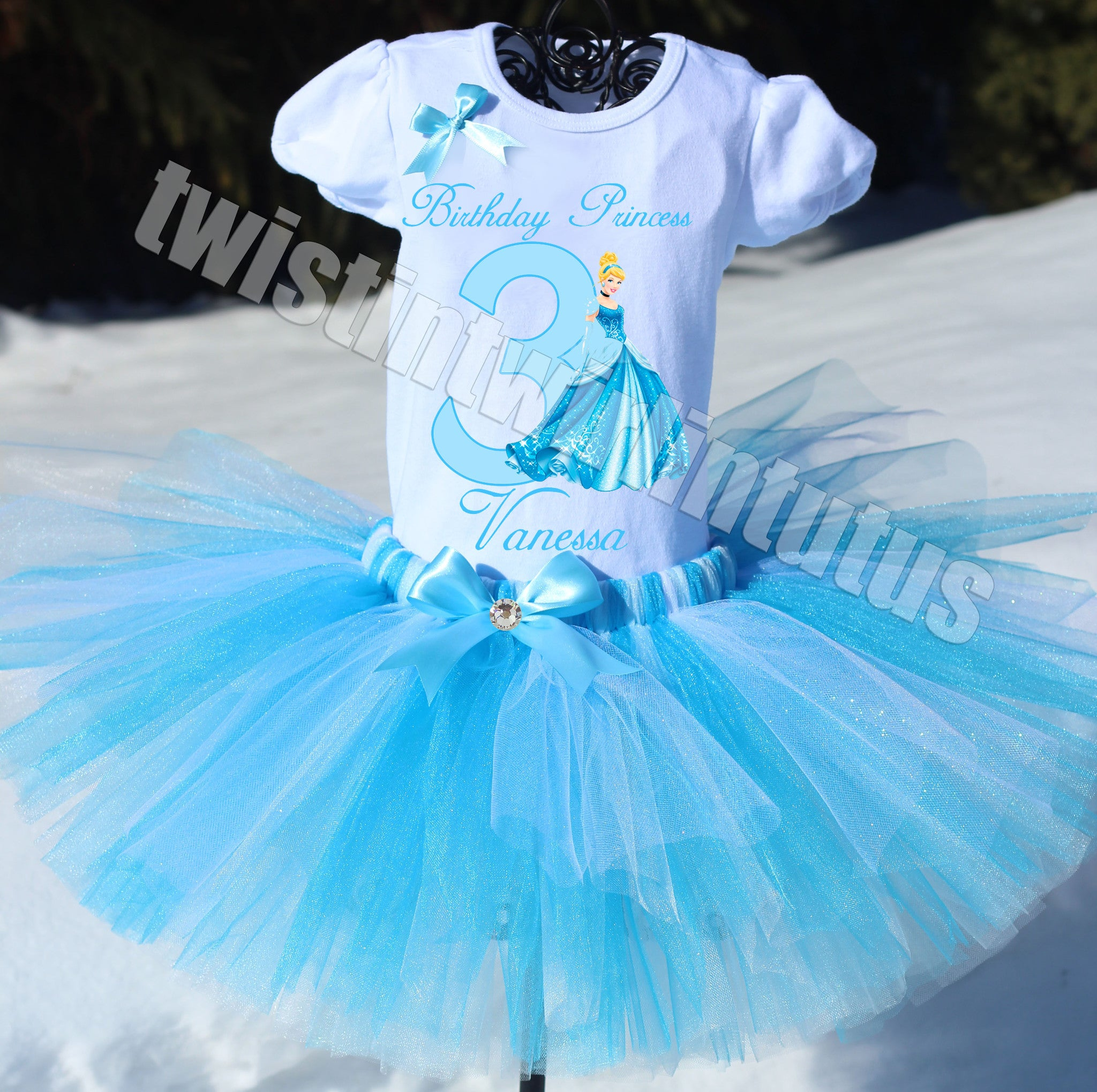 Cinderella Birthday Outfit