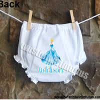 Disney Princess Cinderella Bloomers Diaper Cover